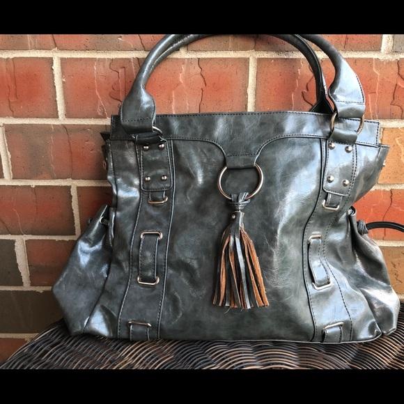 SACHI Handbags - Gray purse